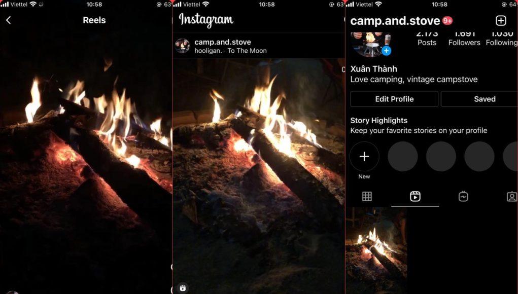 Instagram chính thức ra mắt tính năng 'Reels' tại Việt Nam