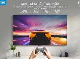 Asanzo trình làng TV thông minh iSLIM PRO 10 chạy Android 10