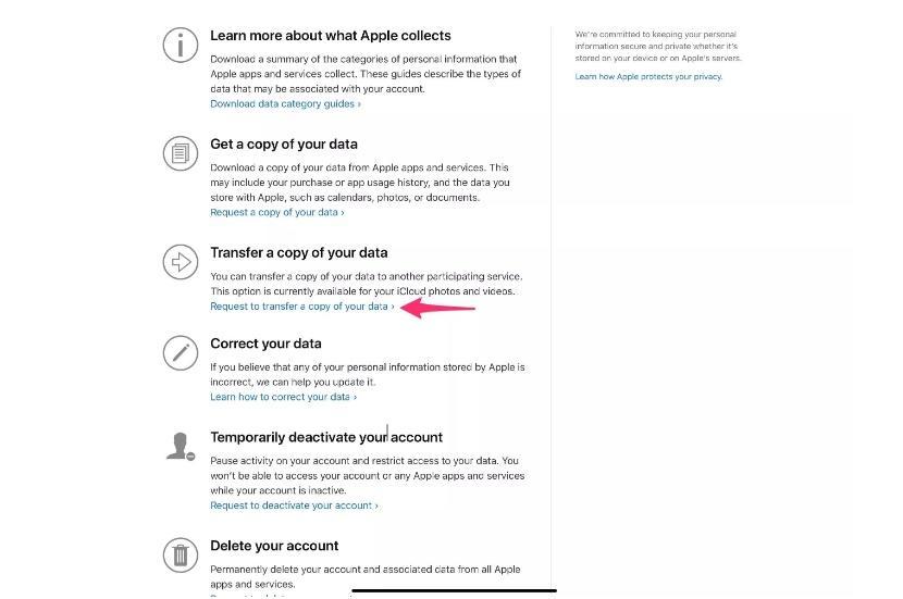 Chuyển ảnh và video từ iCloud sang Google Photos chỉ với vài bước đơn giản