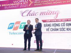 FPT Telecom nhận giải thưởng uy tín Chất lượng dịch vụ được Khách hàng hài lòng nhất
