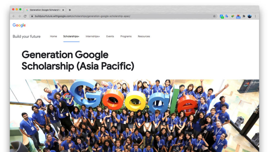 Google mở đăng ký học bổng cho nữ sinh viên ngành khoa học máy tính