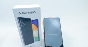 Mở hộp Samsung Galaxy A52 5G: hoàn thiện tốt, không bám vân tay