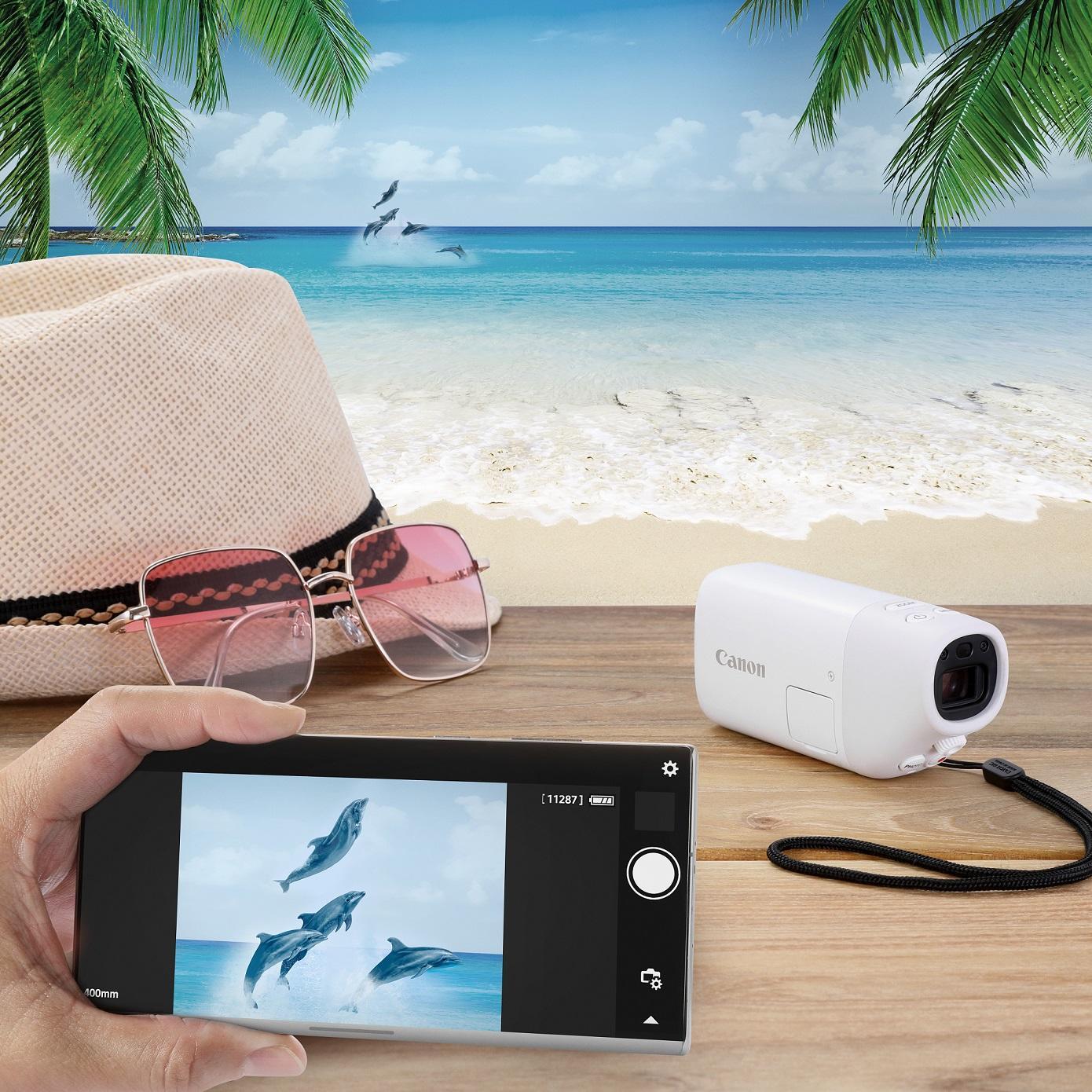 Ra mắt ống nhòm kỹ thuật số Canon PowerShot ZOOM, giá 9 triệu đồng