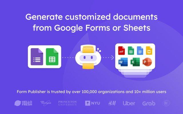3 công cụ hữu ích để tạo tập tin PDF từ Google Forms