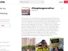 TikTok cùng báo Tiền Phong khởi động thử thách #TienPhongmarathon