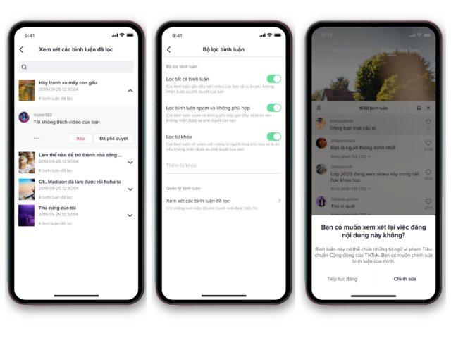TikTok ra mắt công cụ khuyến khích người dùng tương tác văn minh