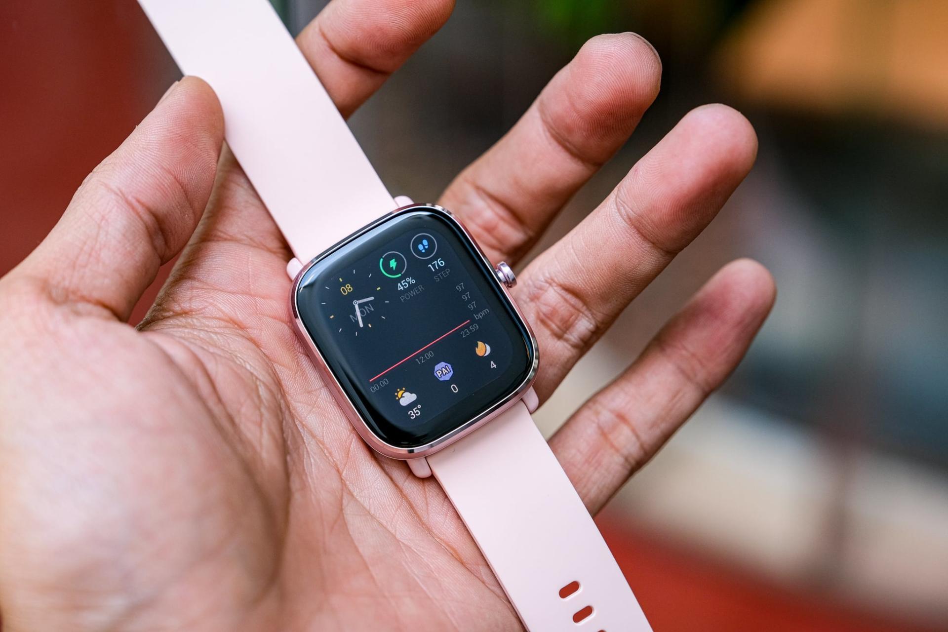 Trên tay smartwatch giá rẻ Amazfit GTS 2 Mini