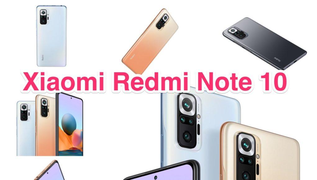 Xiaomi ra mắt series Redmi Note 10 với 4 phiên bản