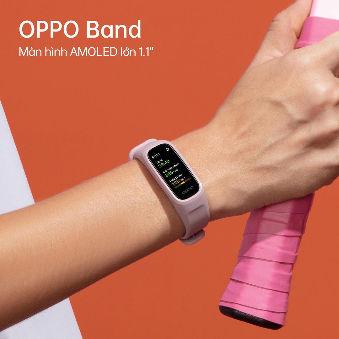 Ra mắt OPPO Band, thiết bị theo dõi sức khỏe toàn diện với tính năng đo chỉ số SpO2 liên tục