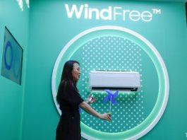 Samsung ra mắt dòng máy điều hòa WindFree thế hệ mới tích hợp AI