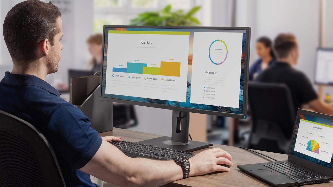 Viewsonic ra mắt 4 màn hình đáp ứng nhu cầu làm việc mọi lúc mọi nơi