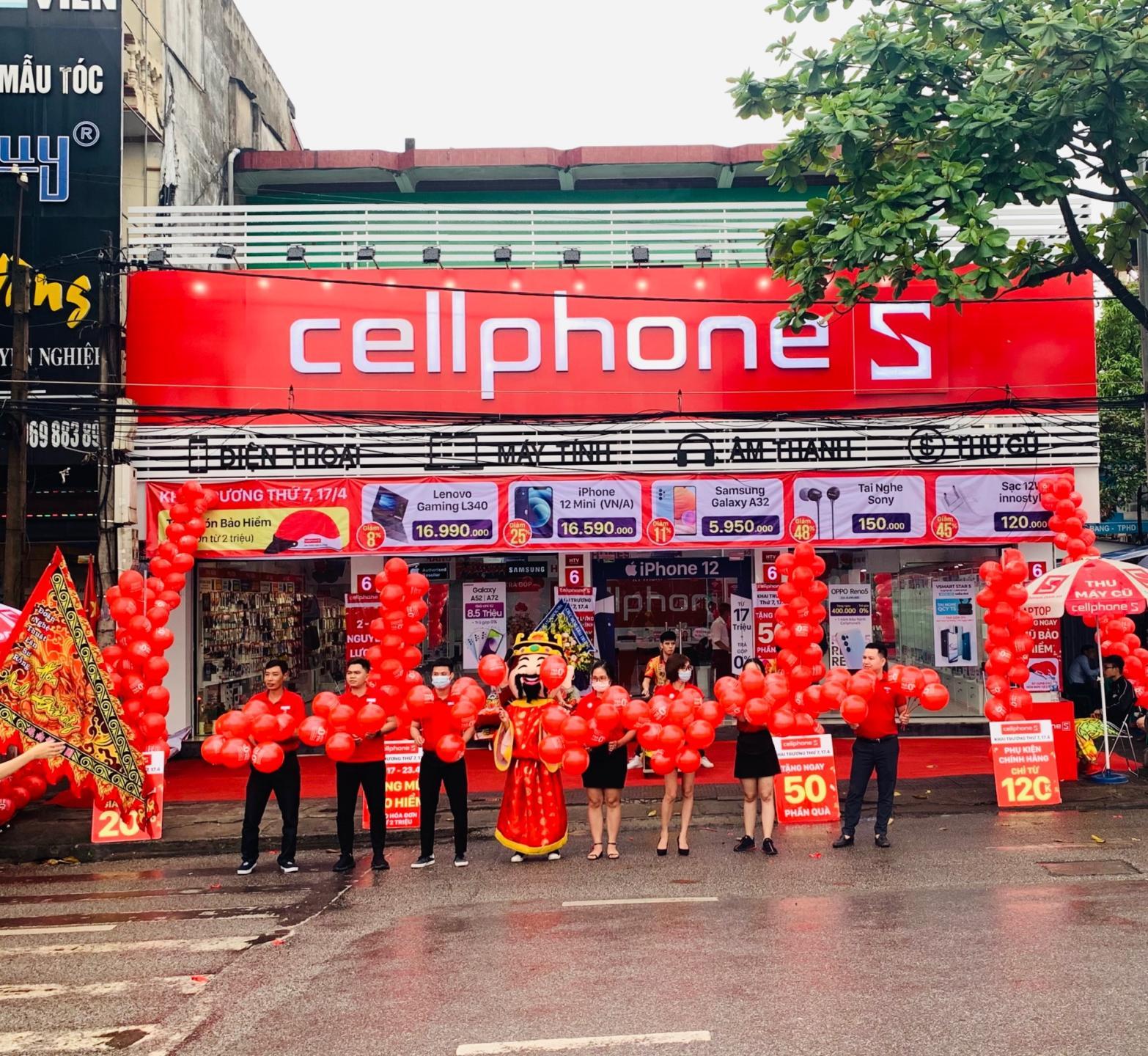 CellphoneS mở thêm cửa hàng mới tại Hải Dương