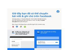 Facebook mở rộng phạm vi tiếp cận của công cụ di chuyển dữ liệu