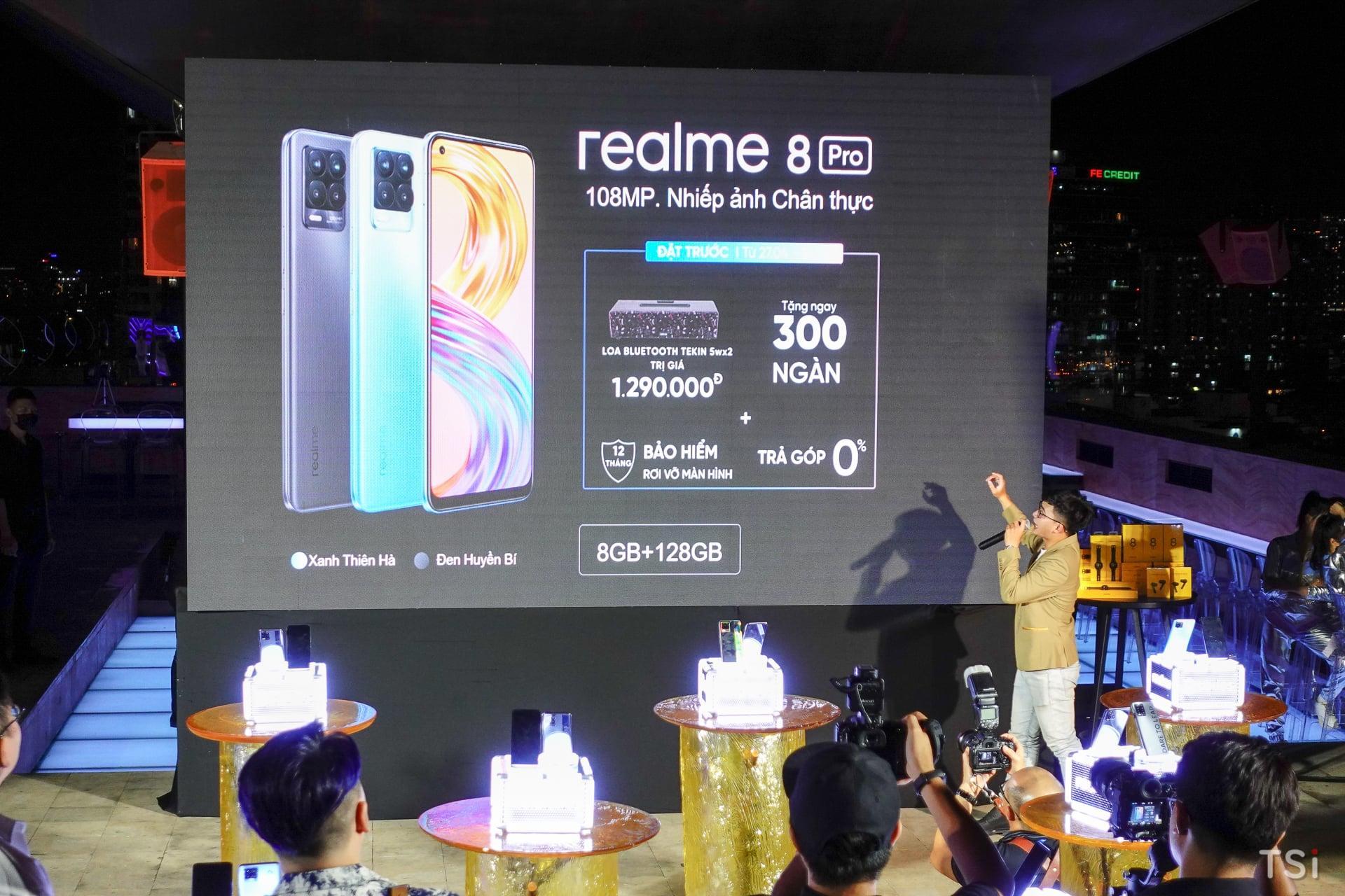 Realme 8 series ra mắt, công bố giá vào ngày 27.4