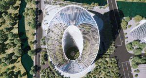 Tòa nhà R&D 'O-Tower' mới của OPPO dùng kiến trúc 'vòng lặp vô cực'