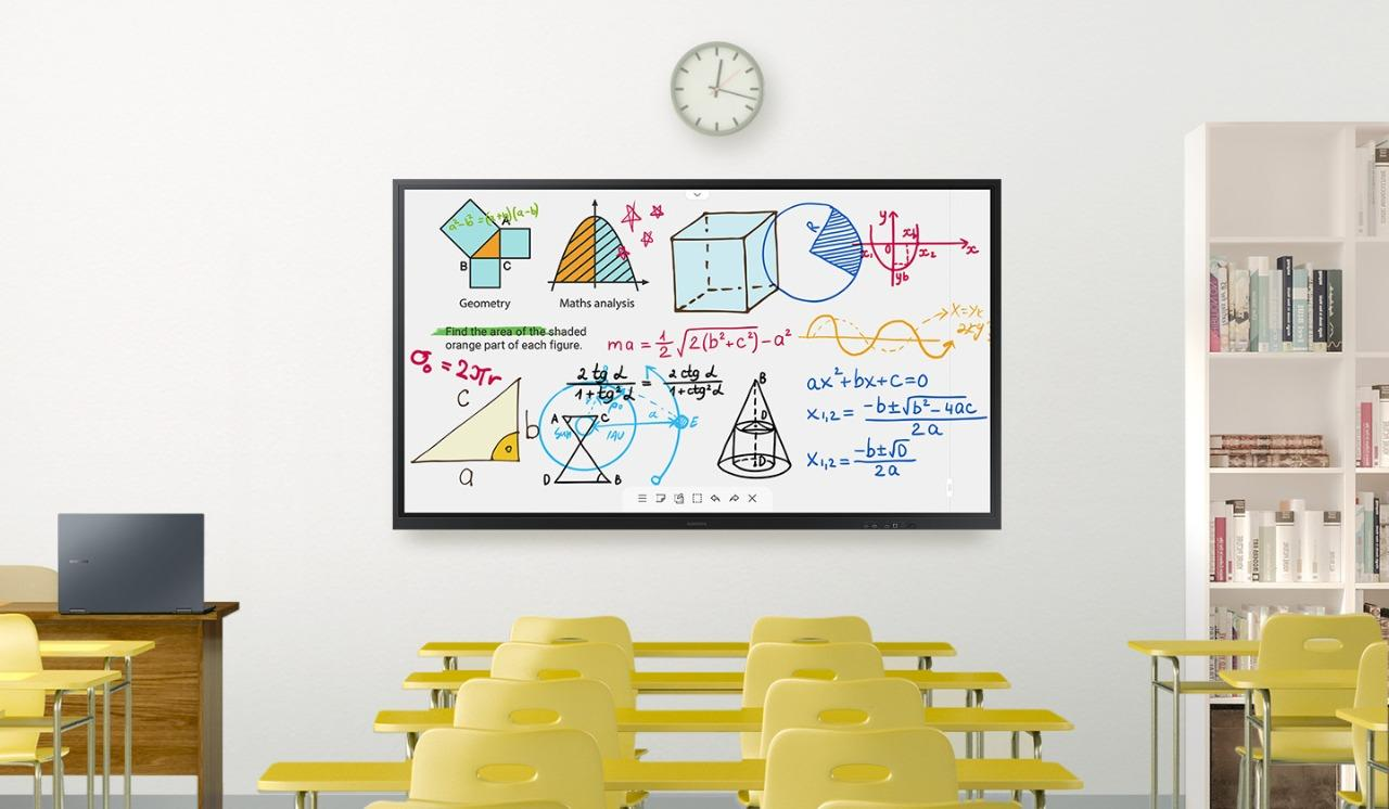 Ra mắt bảng tương tác Samsung Flip 3 kích thước 75 inch
