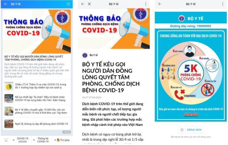 Bộ Y tế và nhiều địa phương khuyến cáo phòng, chống dịch Covid-19 trong dịp lễ