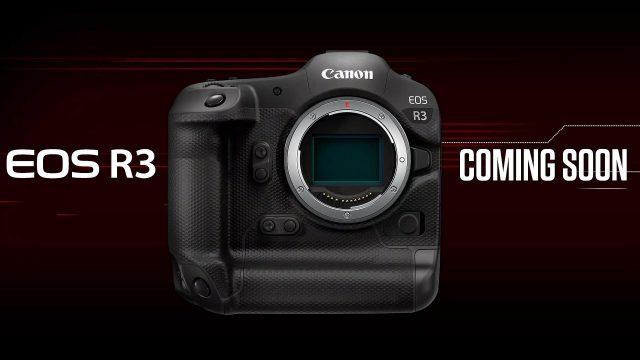 Canon công bố EOS R3 dự kiến ra mắt cuối năm nay