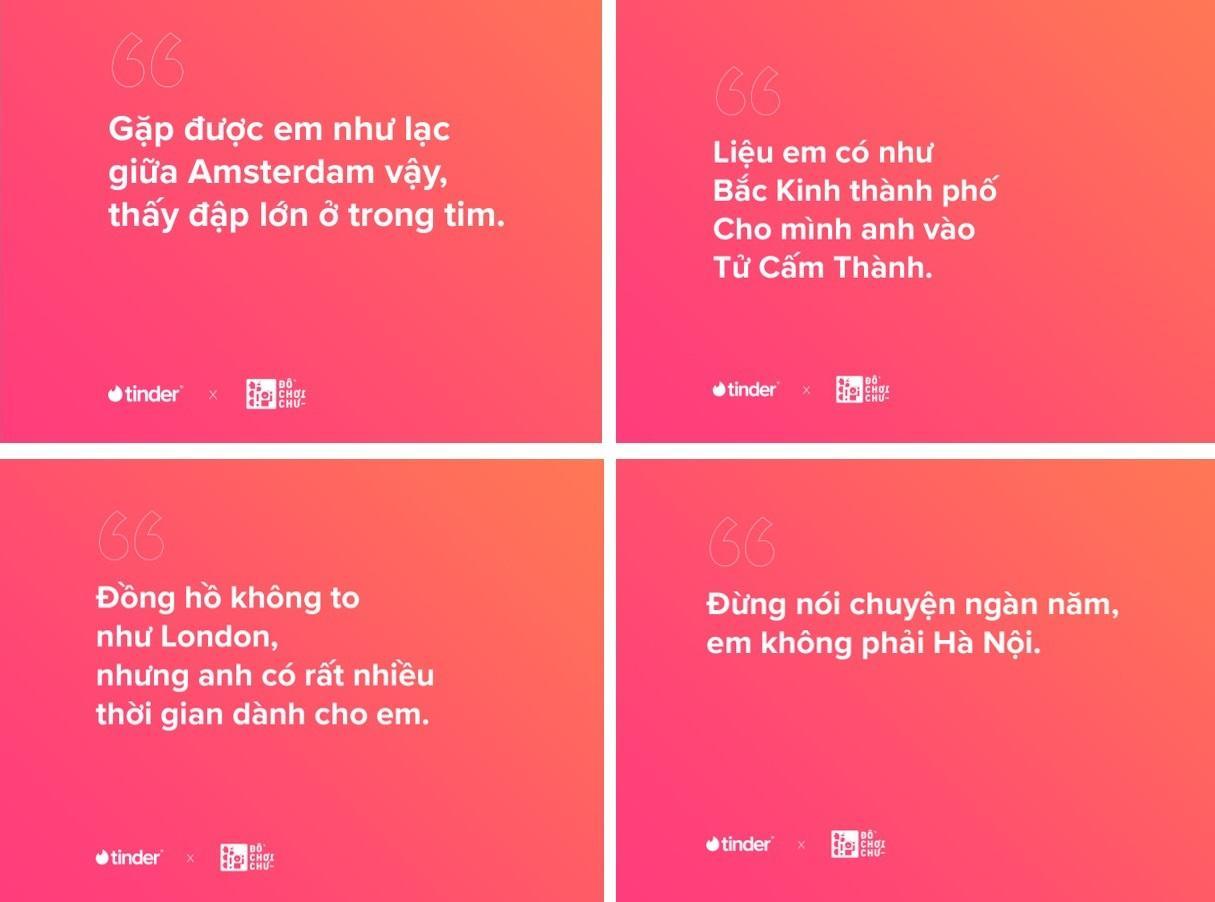 Những cách chơi chữ sáng tạo để mở đầu câu chuyện khi dùng 'Hộ chiếu' trên Tinder