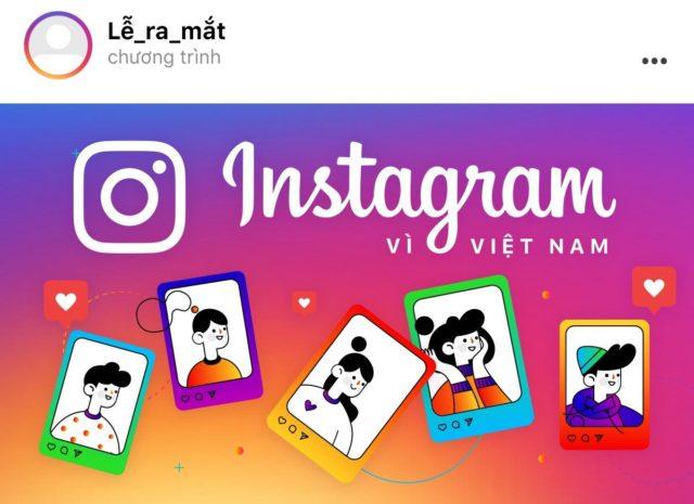 Facebook ra mắt chiến dịch 'Instagram vì Việt Nam'