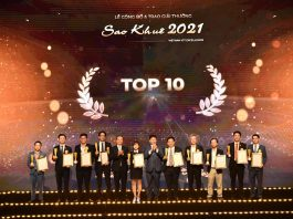 FPT có hai sản phẩm đạt Top 10 Sao Khuê 2021