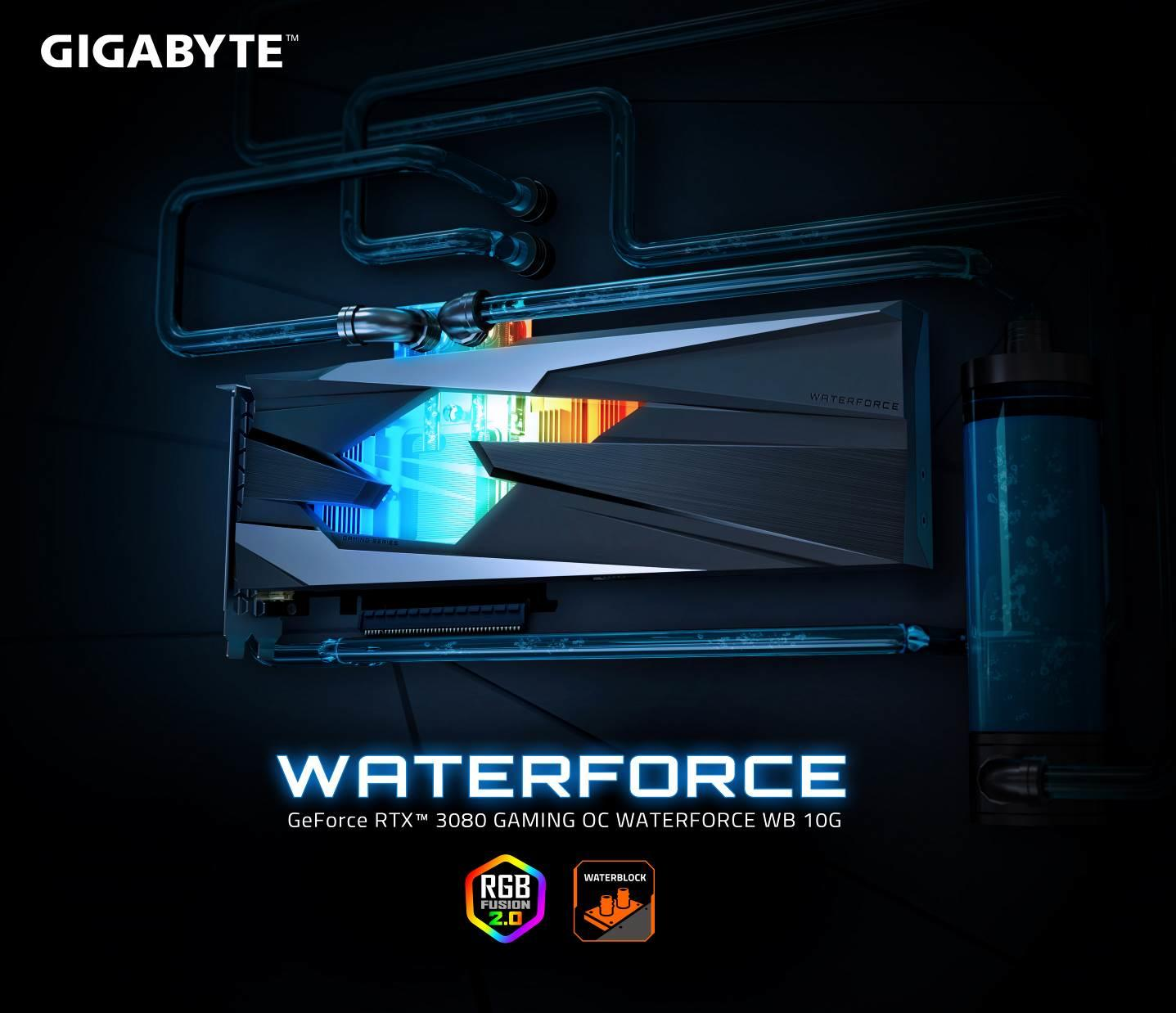 Ra mắt GeForce RTX 3080 GAMING OC WATERFORCE WB 10G