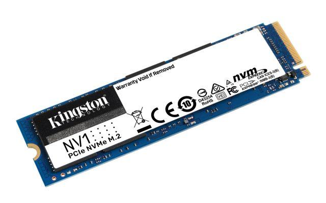 Kingston ra mắt ổ cứng SSD NV1 NVMe PCIe Gen 3.0 x 4