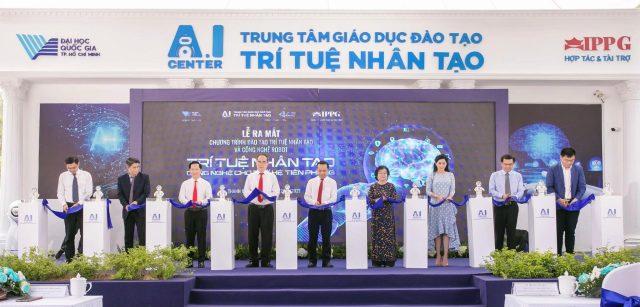 Liên Thái Bình Dương khai trương trung tâm giáo dục đào tạo trí tuệ nhân tạo