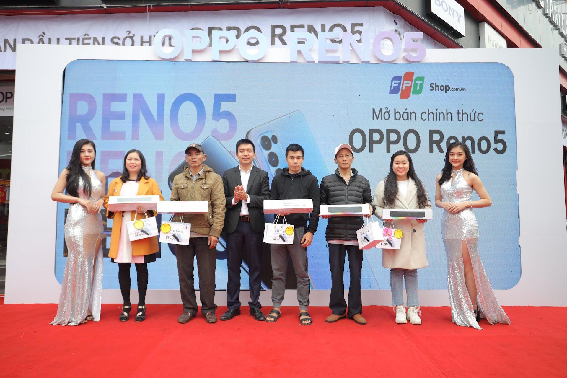 OPPO Reno5: smartphone bán chạy nhất Việt Nam Quý I/2021