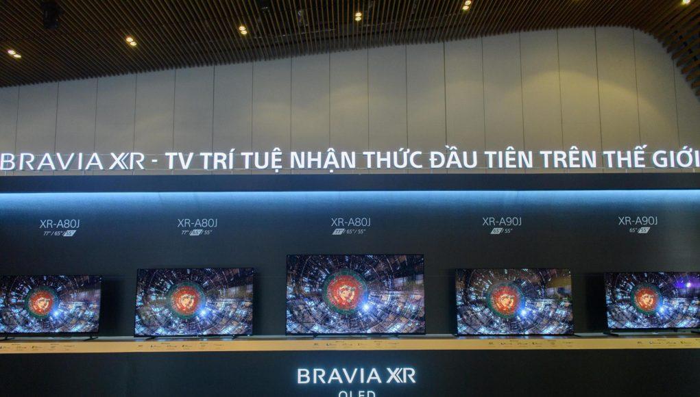 Sony ra mắt thế hệ TV BRAVIA XR tại Việt Nam, tích hợp trí tuệ nhận thức