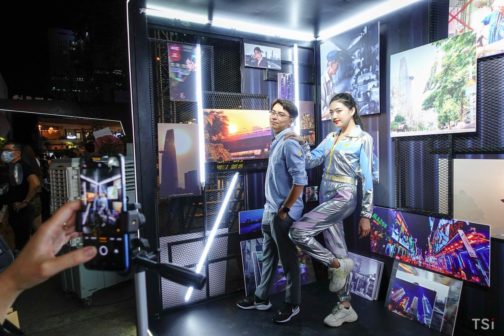 Realme công bố giá bộ đôi 8 series qua sự kiện khuấy động hoành tráng