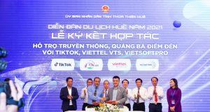 TikTok Việt Nam hợp tác với Sở Du lịch Thừa Thiên Huế quảng bá du dịch bằng video ngắn