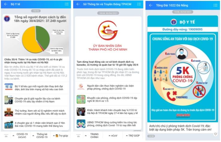 Zalo ghi nhận 1 triệu lượt đổi ảnh đại diện mang thông điệp chống COVID-19 trong 1 ngày