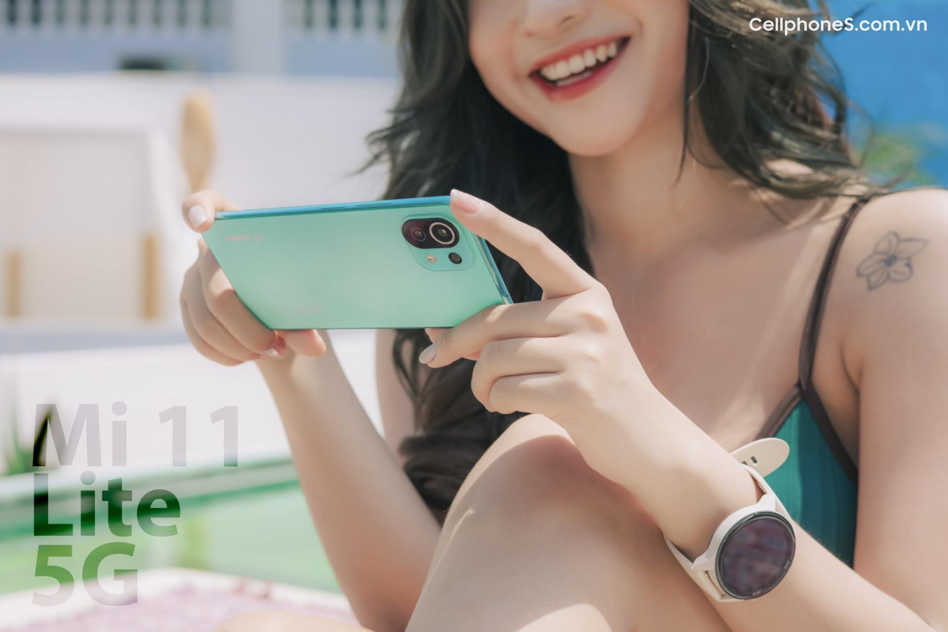 Xiaomi Mi 11 Lite 5G bán độc quyền tại CellphoneS, đặt trước từ hôm nay