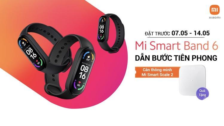 Xiaomi chính thức ra mắt Mi Smart Band 6, giá 1,29 triệu đồng