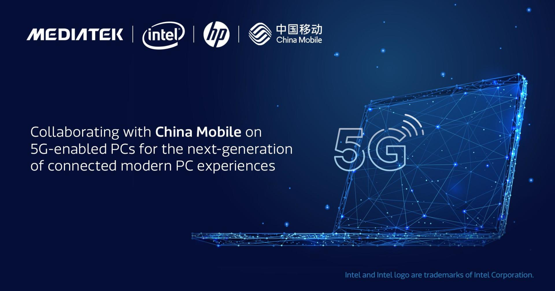 Nhà mạng China Mobile hợp tác với Intel, HP và MediaTek