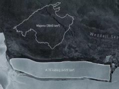 Tảng băng trôi lớn nhất thế giới phá vỡ thềm băng Ronne của Nam Cực