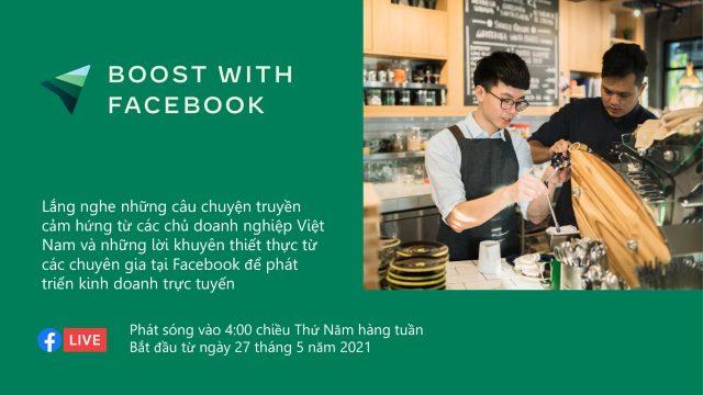 Facebook tái khởi động chương trình 'Bệ phóng doanh nghiệp', tiếp tục hỗ trợ doanh nghiệp Việt vượt qua Covid