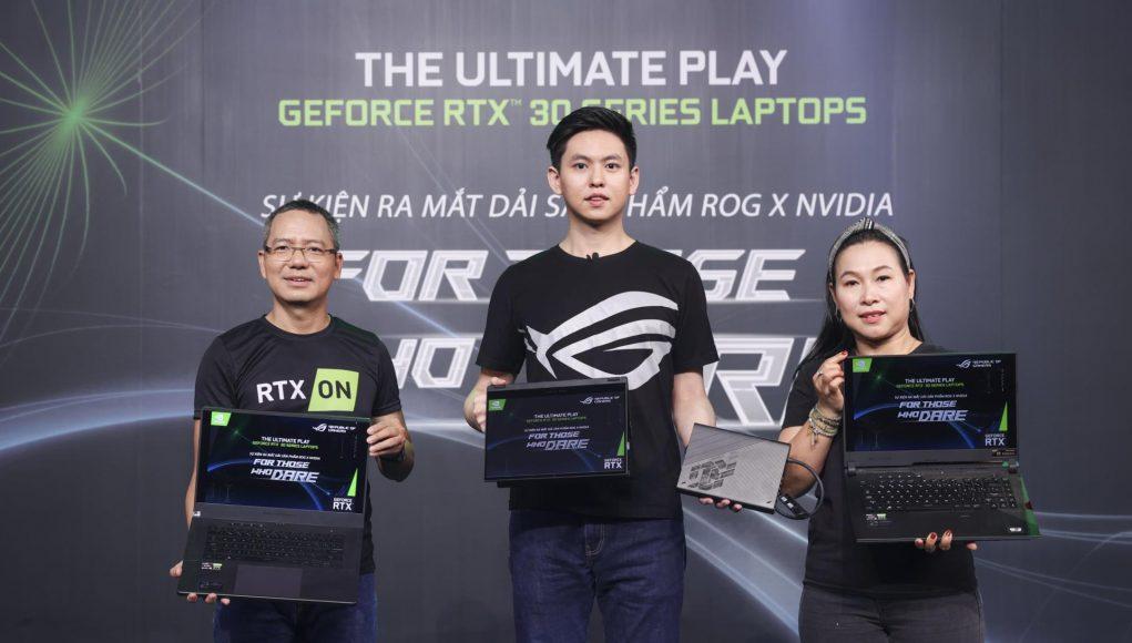 ASUS ROG công bố Flow X13 và dải sản phẩm dùng NVIDIA GeForce RTX 30-series