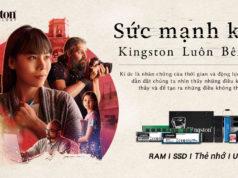 Khởi động chiến dịch định vị thương hiệu 'Kingston Luôn Bên Bạn'