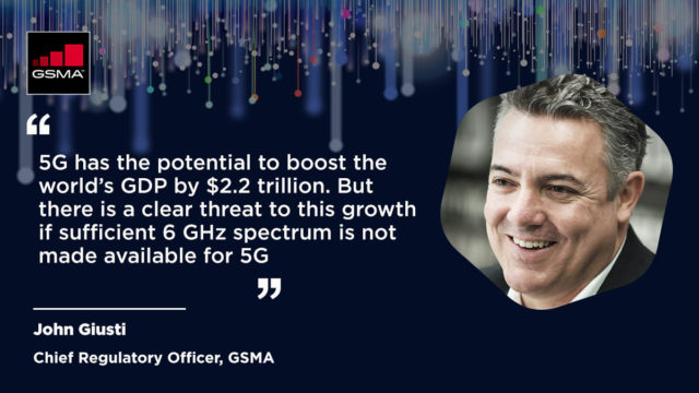 GSMA kêu gọi các chính phủ cấp phép 6 GHz để thúc đẩy 5G