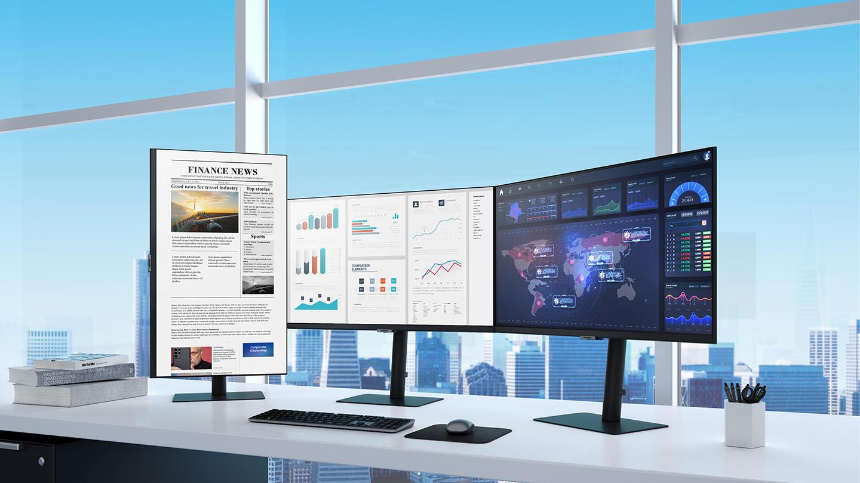 Samsung ra mắt màn hình độ phân giải cao