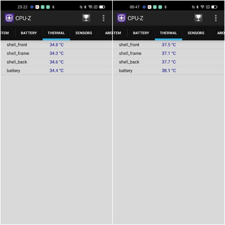 Mức độ tỏa nhiệt của OPPO Find X3 Pro 5G