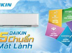 Daikin ra mắt dòng điều hoà flagship FTKZ
