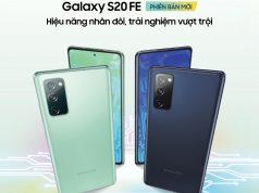 Samsung Galaxy S20 FE lên kệ giá 15,5 triệu đồng