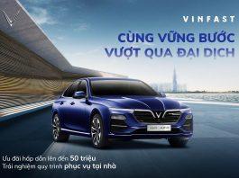 Cơ hội sở hữu VinFast Lux A2.0 từ 851 triệu đồng trong tháng 5
