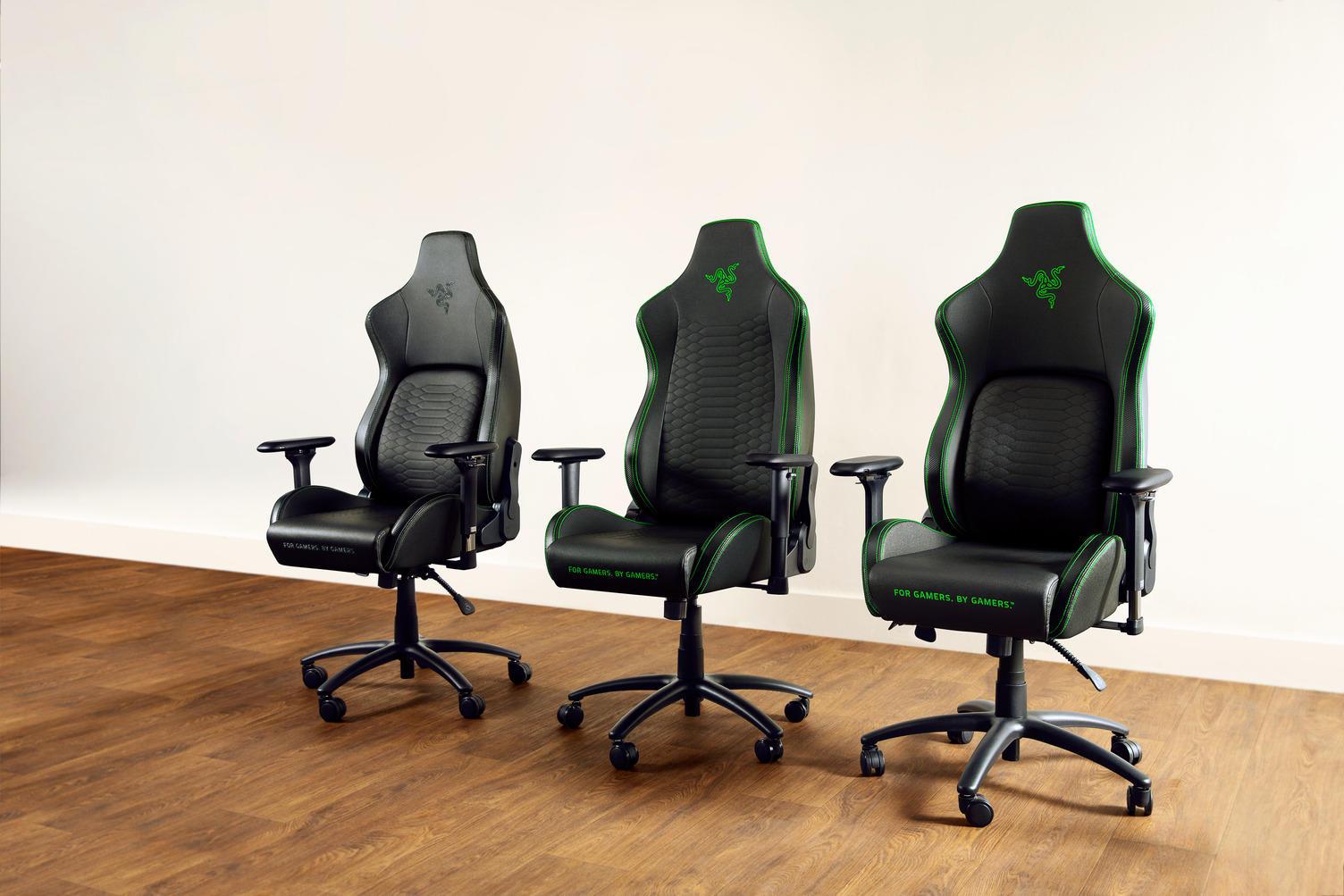 Ghế chơi game Razer Iskur X:phụ kiện thiết yếu cho các game hạng nặng