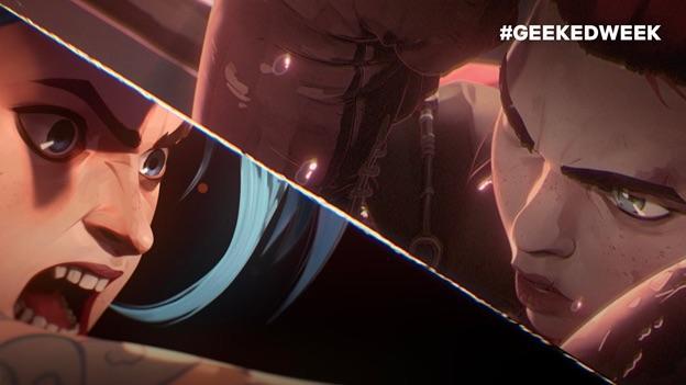 Hé lộ hình ảnh đầu tiên của arcane và trao đổi của nhà đồng sáng tạo Christian Linke và Alex Yee đến từ Riot Games
