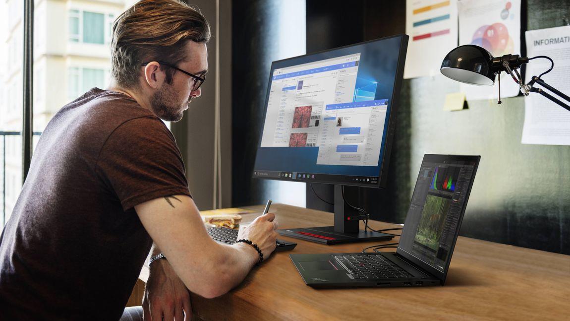 Lenovo ra mắt thế hệ ThinkPad và ThinkVision mới