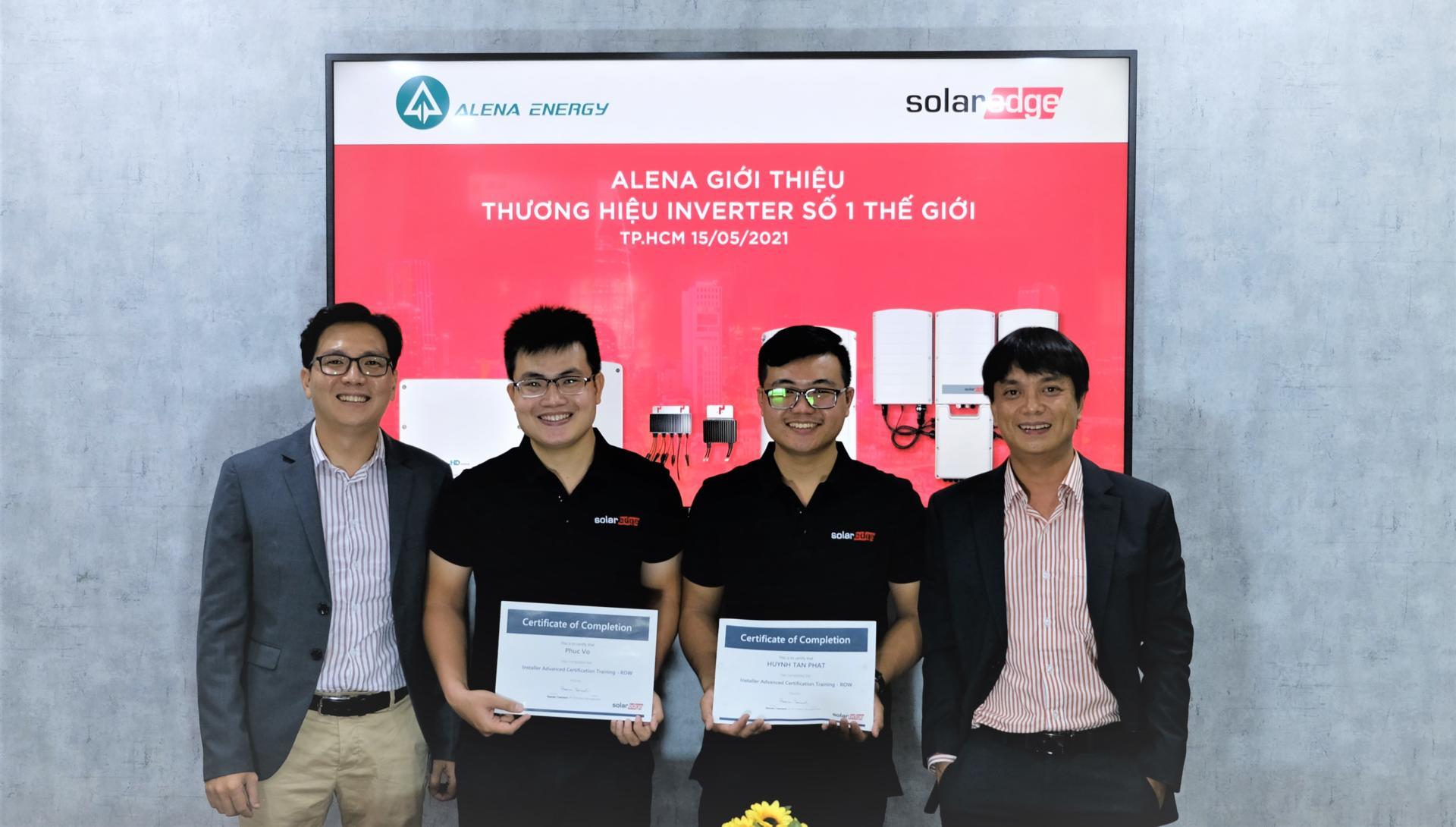 Alena thiết kế miễn phí hệ thống điện mặt trời, chung tay đẩy lùi COVID-19